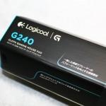マウスパッド : Logicool G240 ゲーミングソフトマウスパッド 【 性能比較付き 】